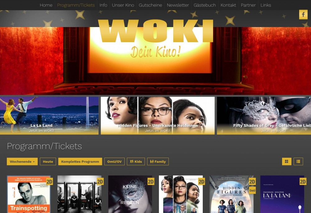 WOKI in Bonn mit website.plus 2.0 online