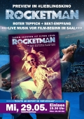 Rocketman Preview mit LIVE Musik